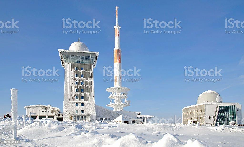 Brocken Mountain,Germany stock photo