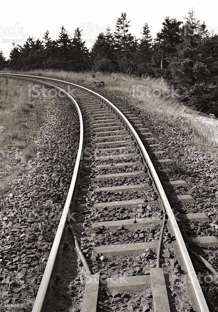 Brockenbahn stock photo