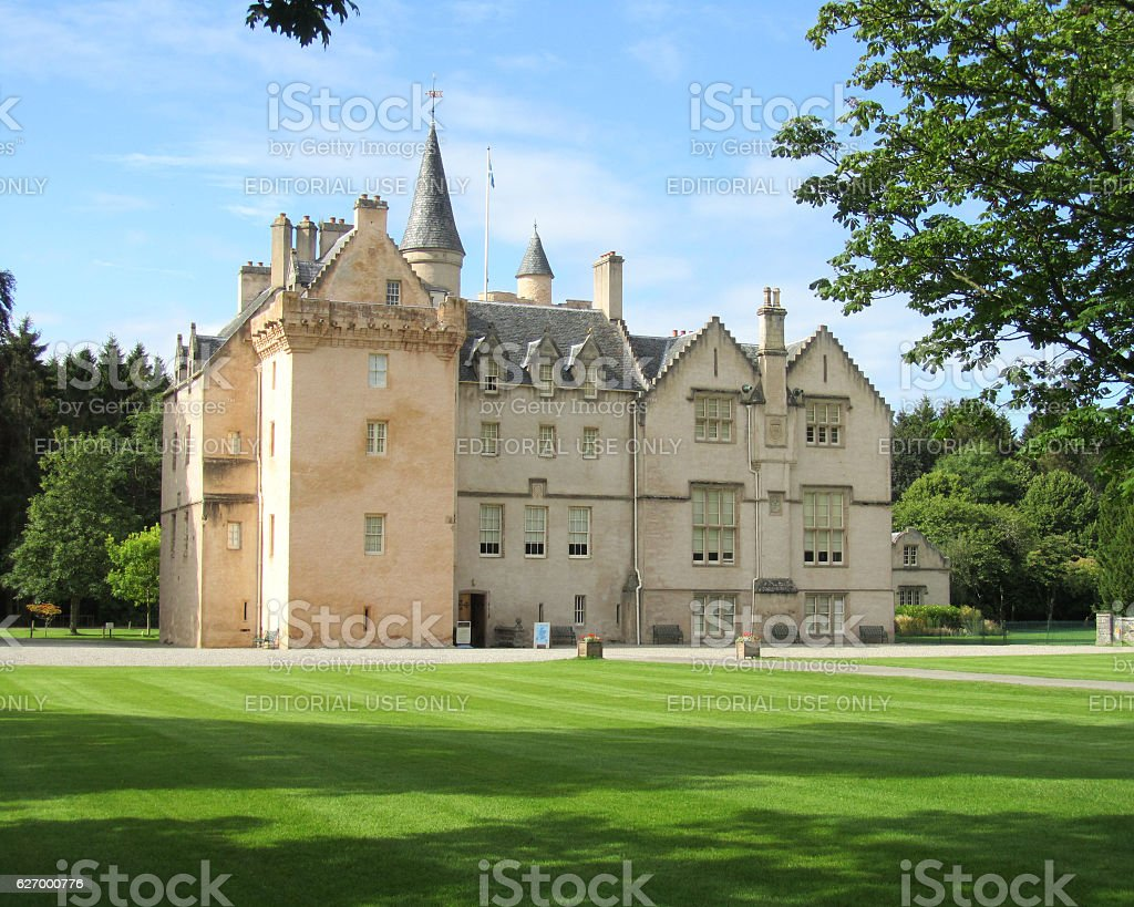 Brodie Castle stock photo