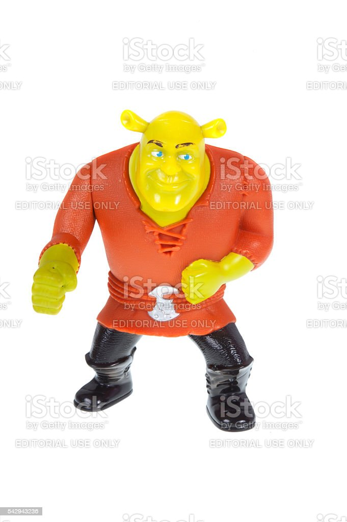 Brogan 2010 Shrek Forever After Happy Meal Toy stock photo