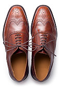 Brogues from above