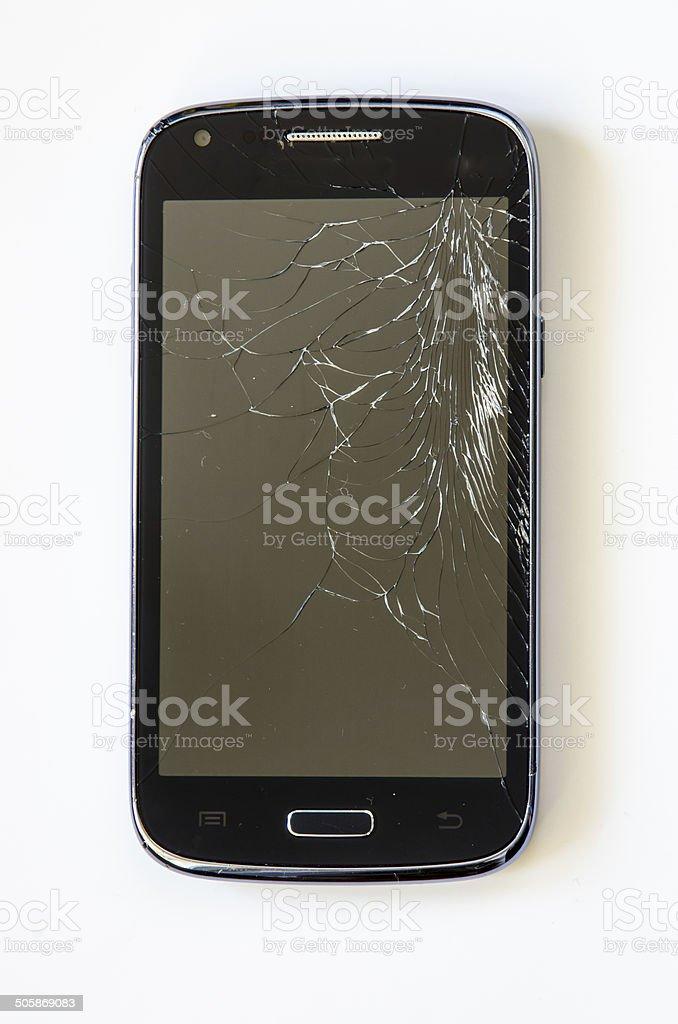 broke mobile stock photo