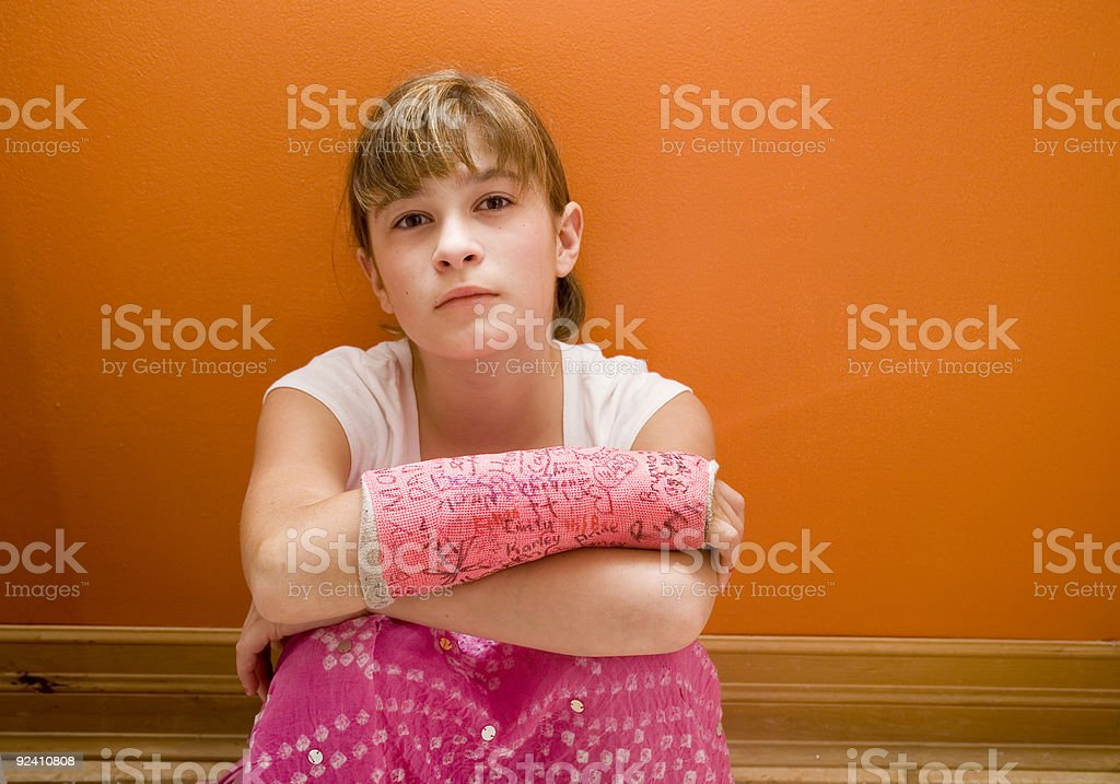 Broken Arm royalty-free stock photo