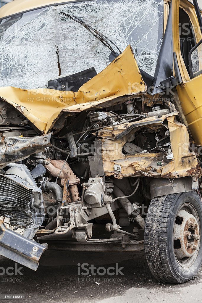 Broken car royalty-free stock photo