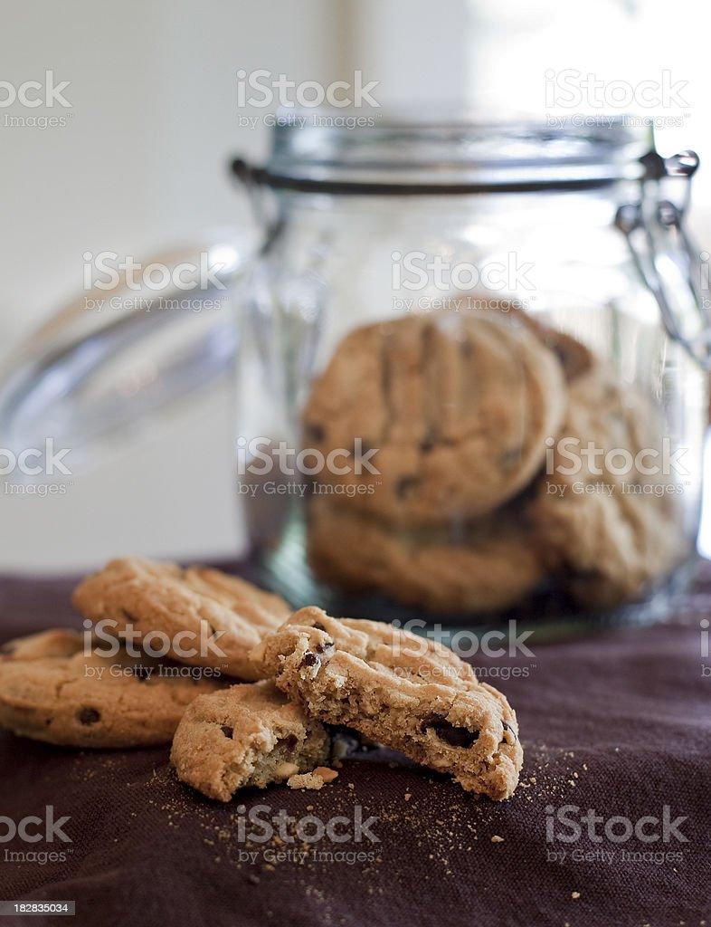 Broken Cookie royalty-free stock photo