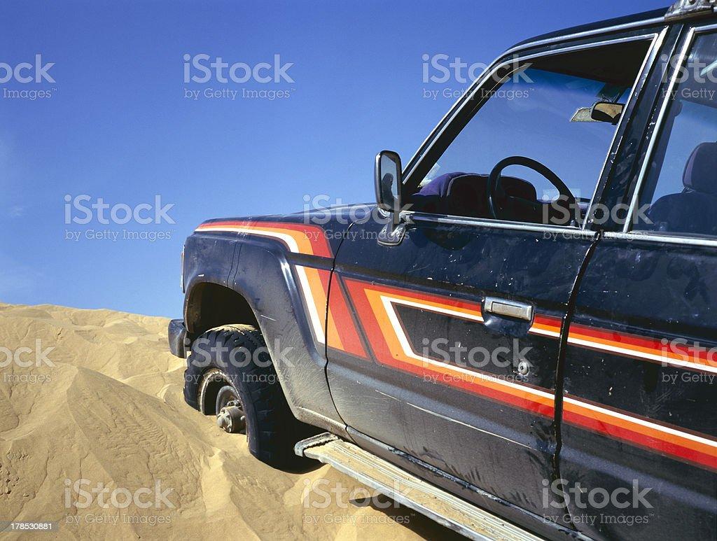 broken down vehicle royalty-free stock photo
