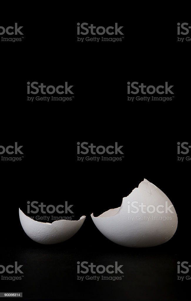 Broken egg royalty-free stock photo