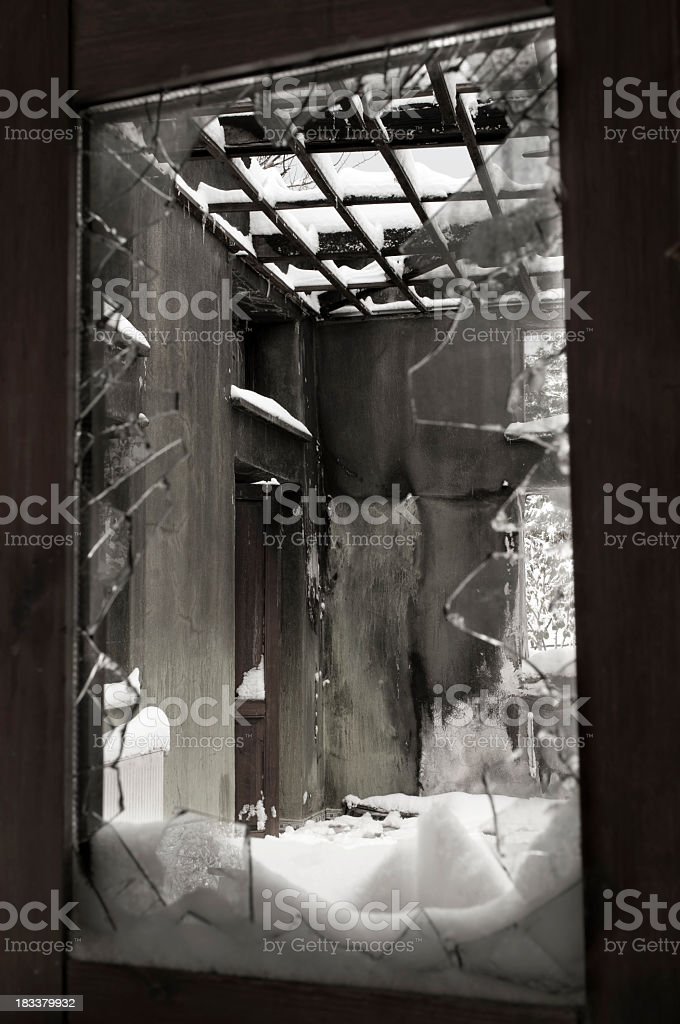 Broken Frame stock photo
