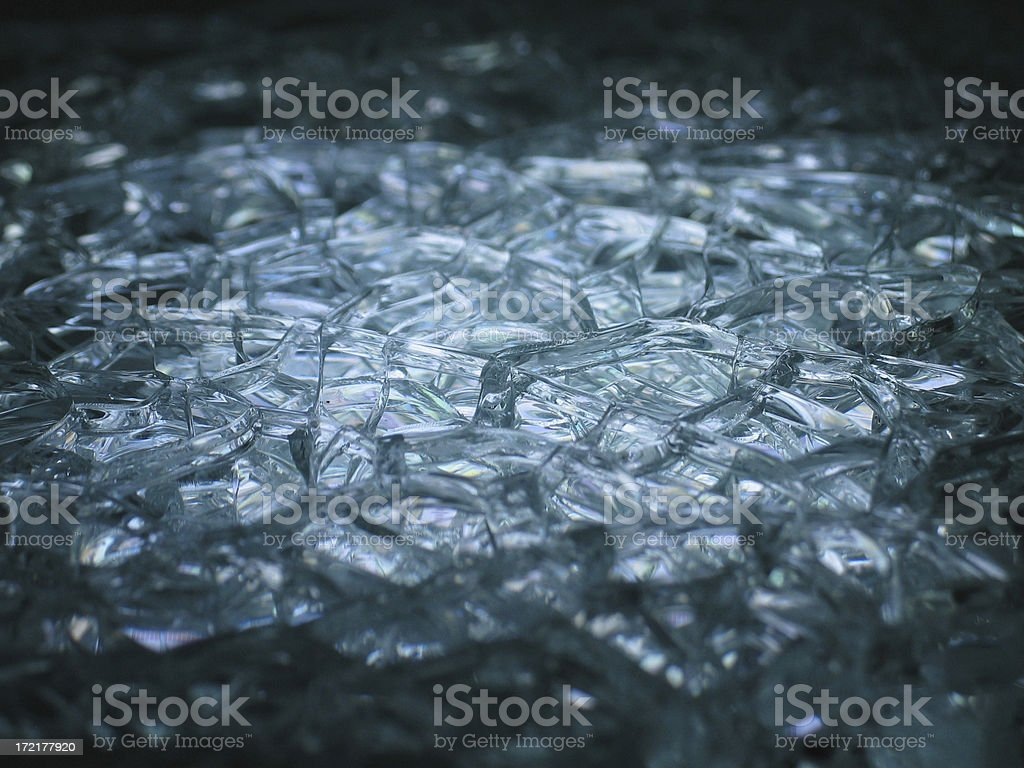 Broken Glass 1 royalty-free stock photo