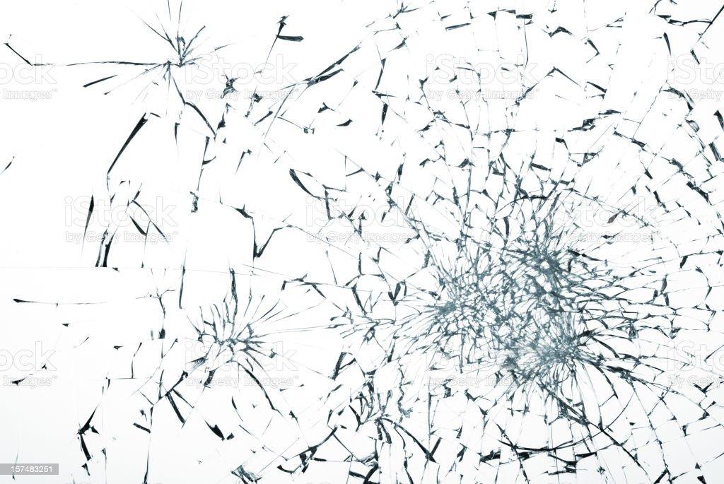 broken glass royalty-free stock photo