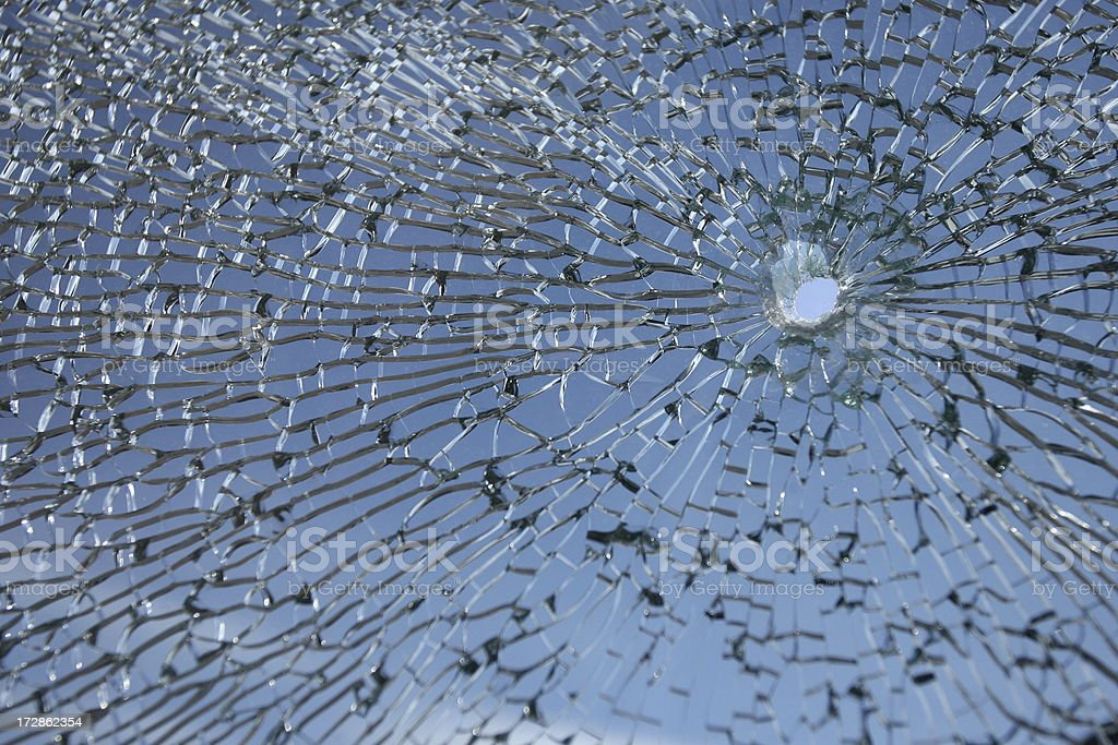Broken Glass Series royalty-free stock photo