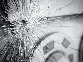 Broken Glass  shattered wreck surface Texture Background