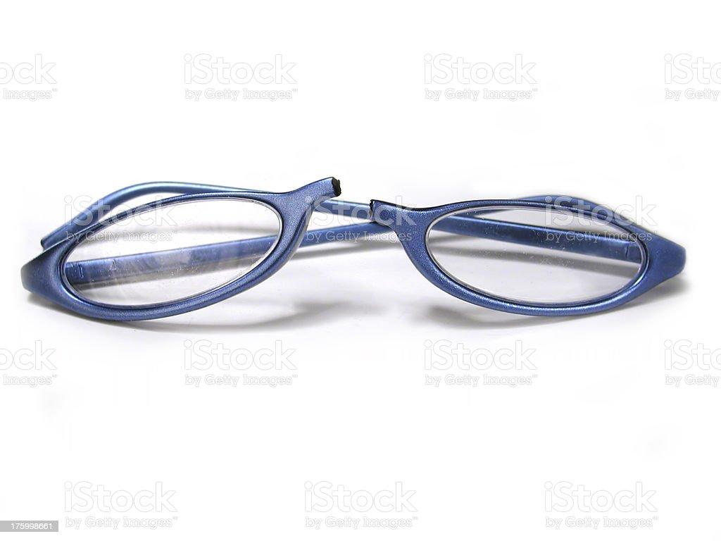 Broken Glasses stock photo