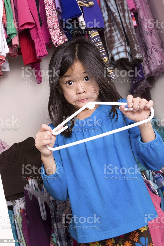 Broken Hanger royalty-free stock photo