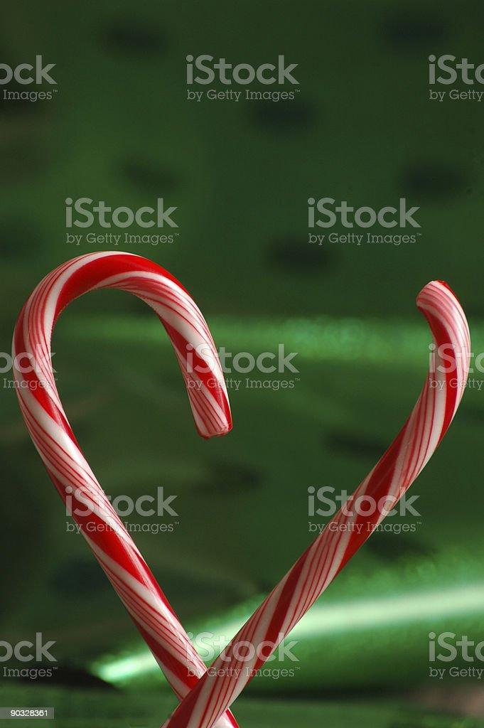 Broken heart at christmas stock photo
