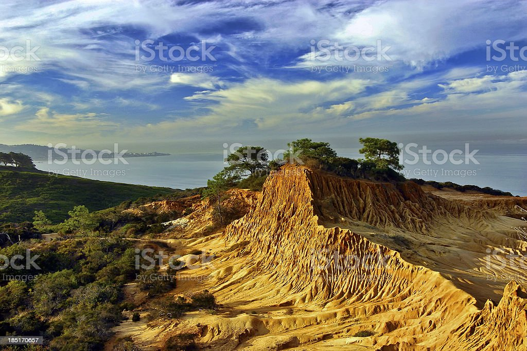 Broken Hill, Torrey Pines State Reserve, San Diego, California stock photo