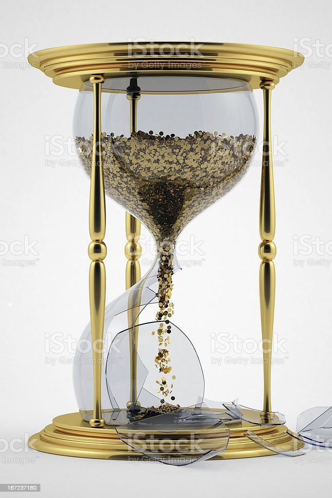 Broken hourglass  Broken Hourglass Pictures, Images and Stock Photos - iStock