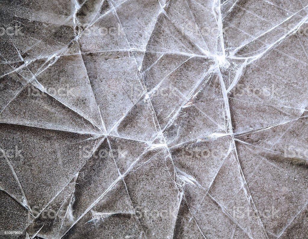 Broken ice texture stock photo