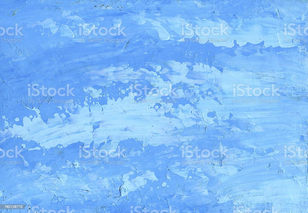 Broken Iceberg Blue Background royalty-free stock photo