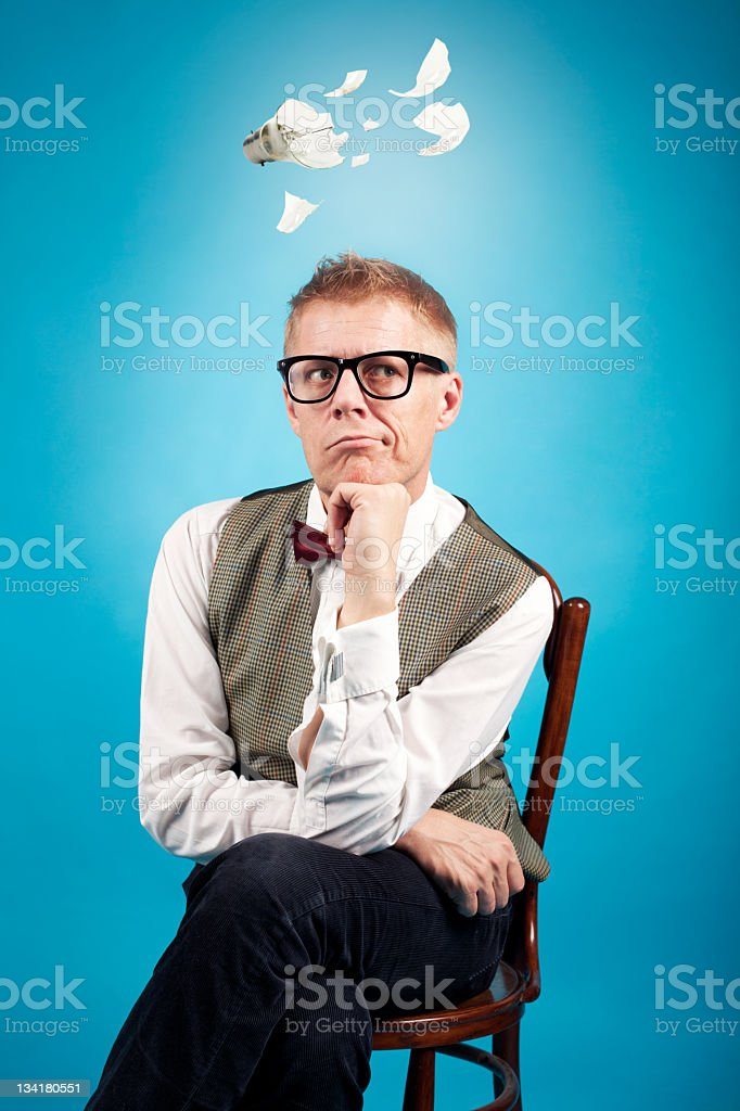 Broken Idea royalty-free stock photo