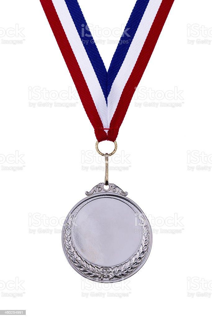Broken is Sliver medal royalty-free stock photo