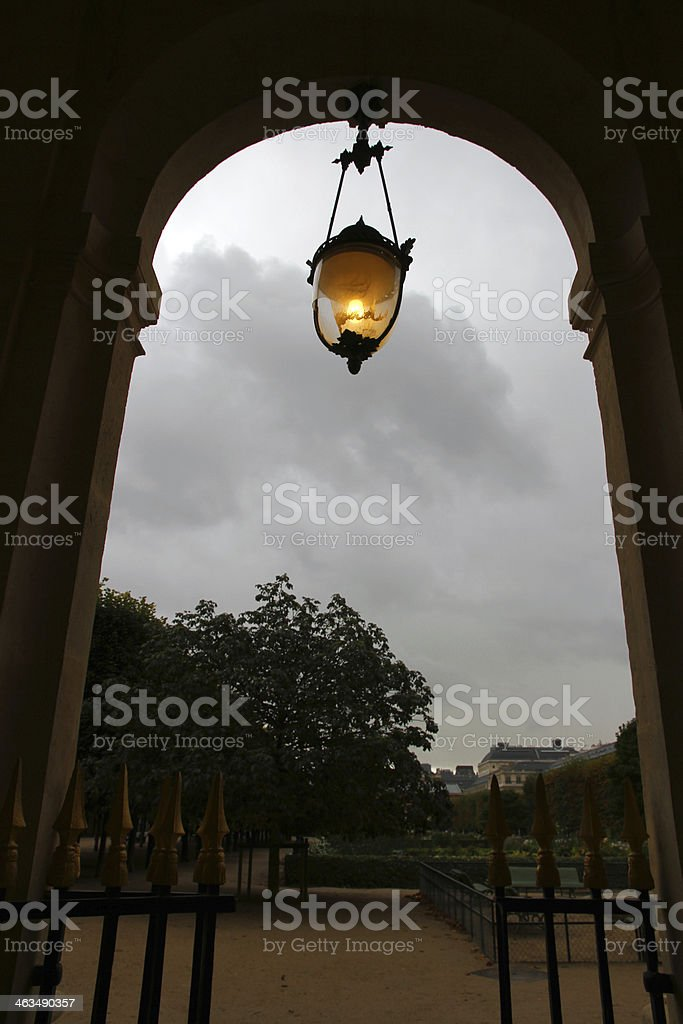 Broken Light in the Storm royalty-free stock photo