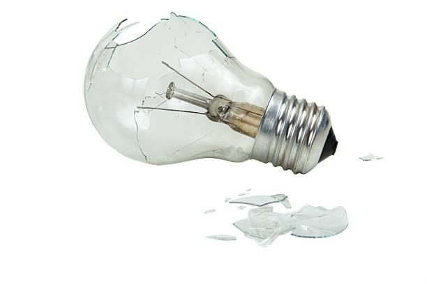 W Light Bulb Clear Glass