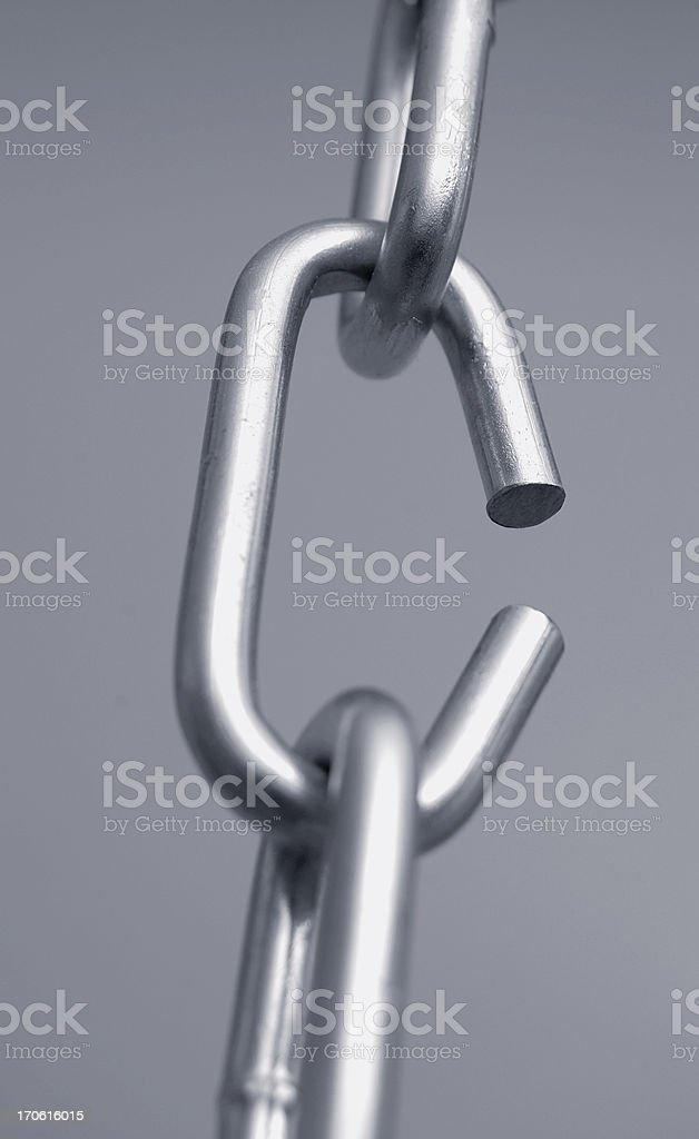 broken link stock photo