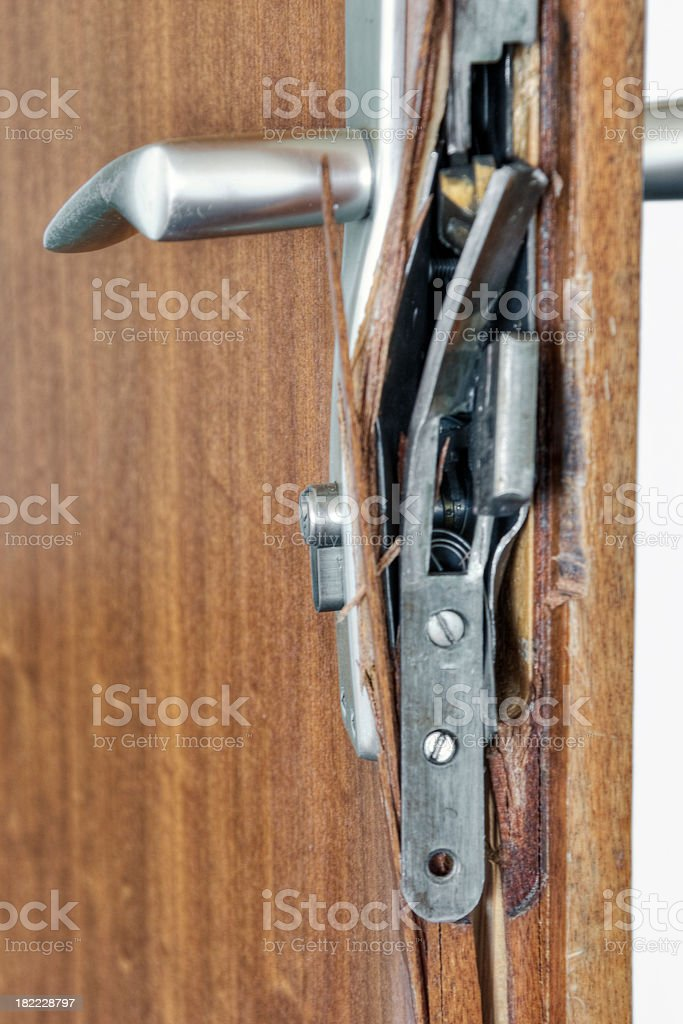 Broken Lock royalty-free stock photo
