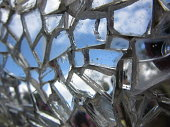 Broken Mirror Tiled Mosaic