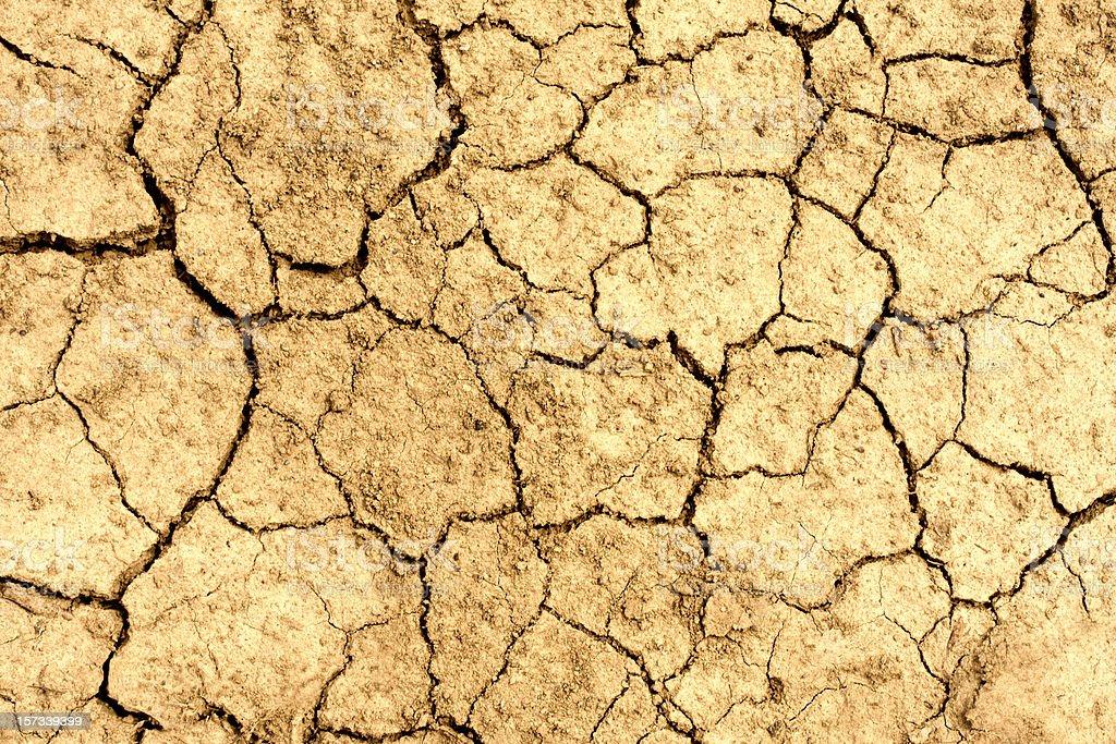 Broken mud royalty-free stock photo