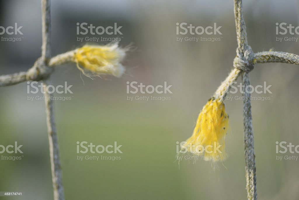 broken net - lost connection royalty-free stock photo