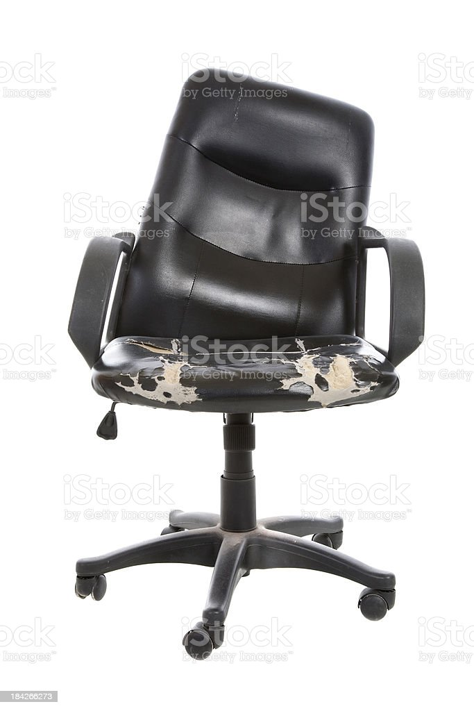 Broken Old Chair stock photo
