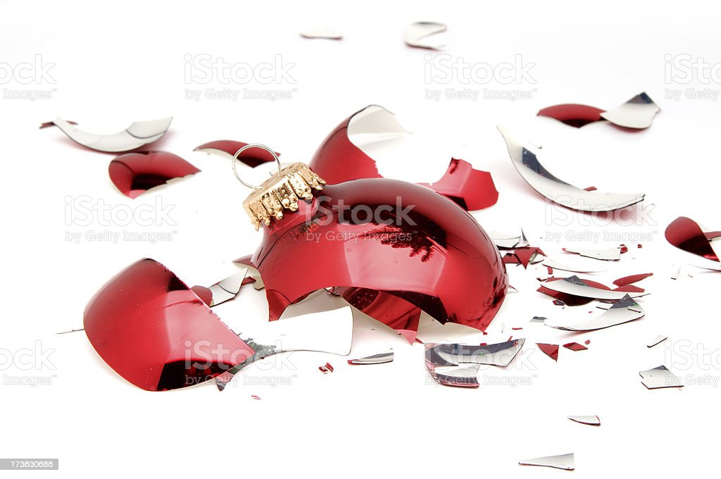 Broken Ornament royalty-free stock photo