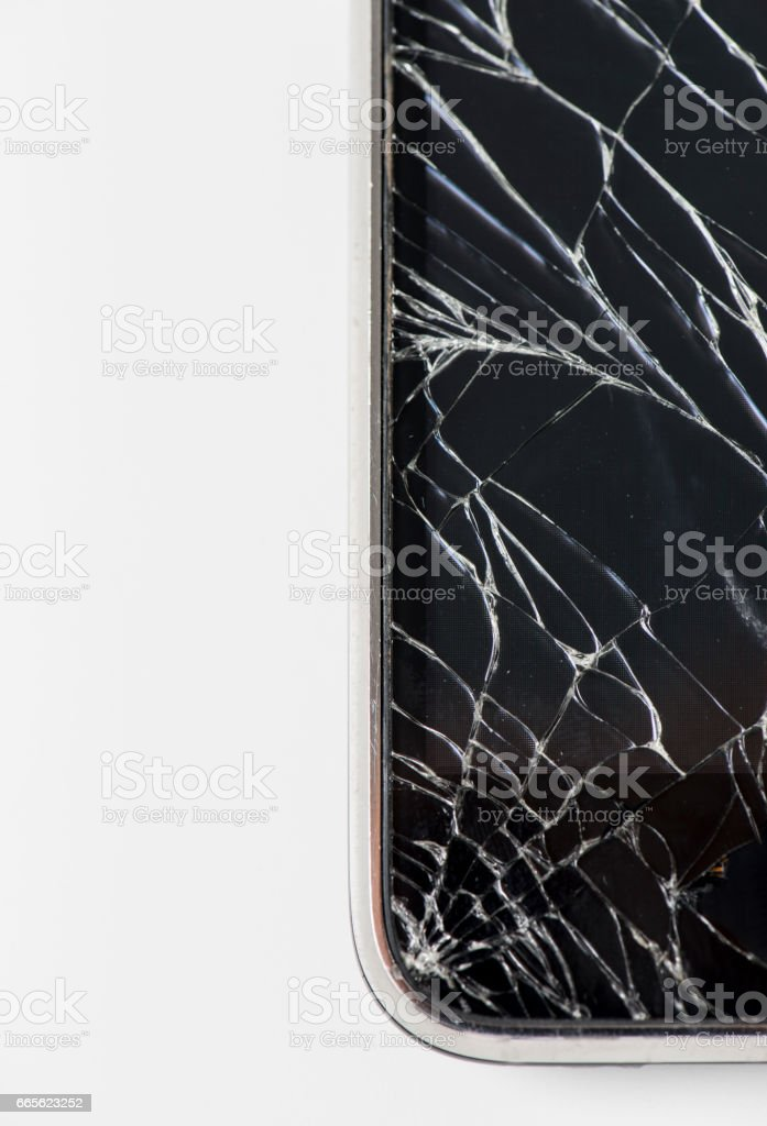 Broken Phone stock photo