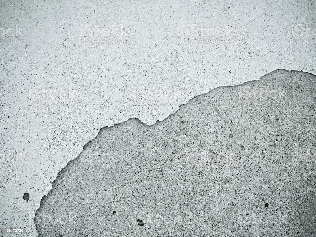 broken plaster wall, background royalty-free stock photo