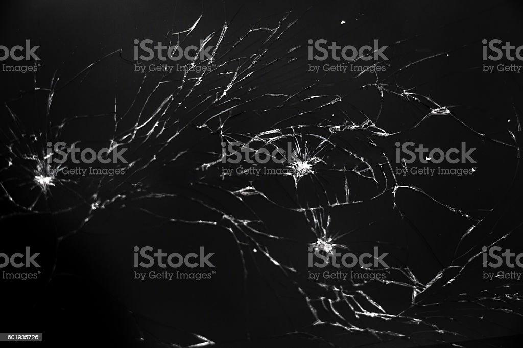 Broken screen stock photo