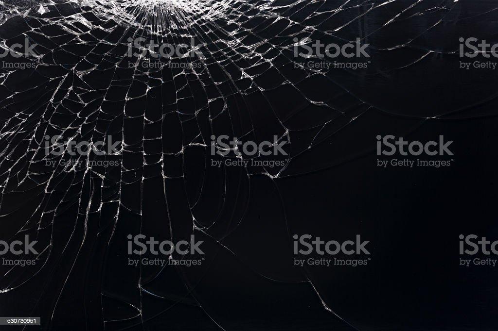 Broken smartphone stock photo