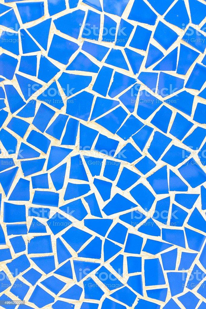 broken spain mosaic stock photo