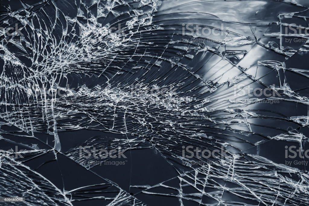 broken tablet screen stock photo