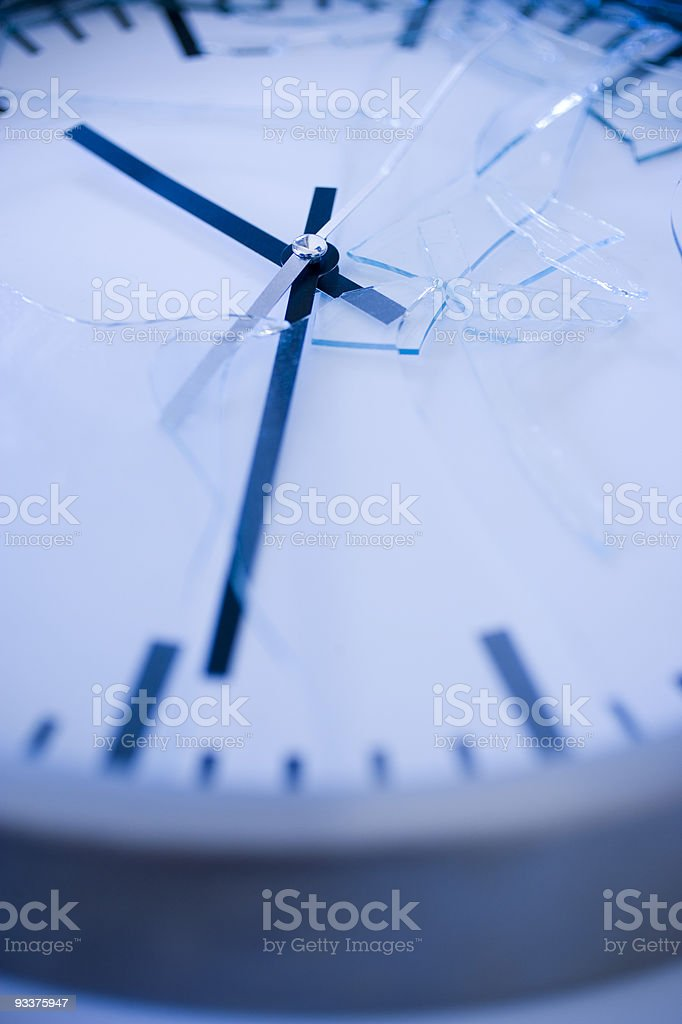 broken time royalty-free stock photo