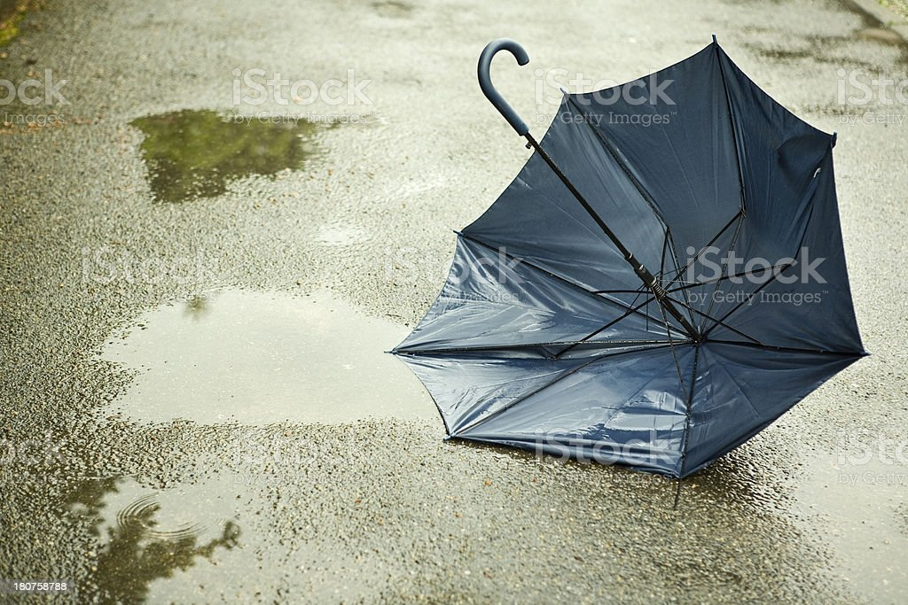 broken umbrella royalty-free stock photo