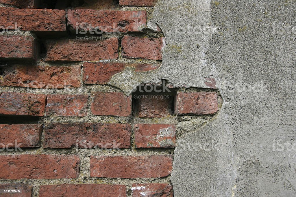 Broken Wall royalty-free stock photo