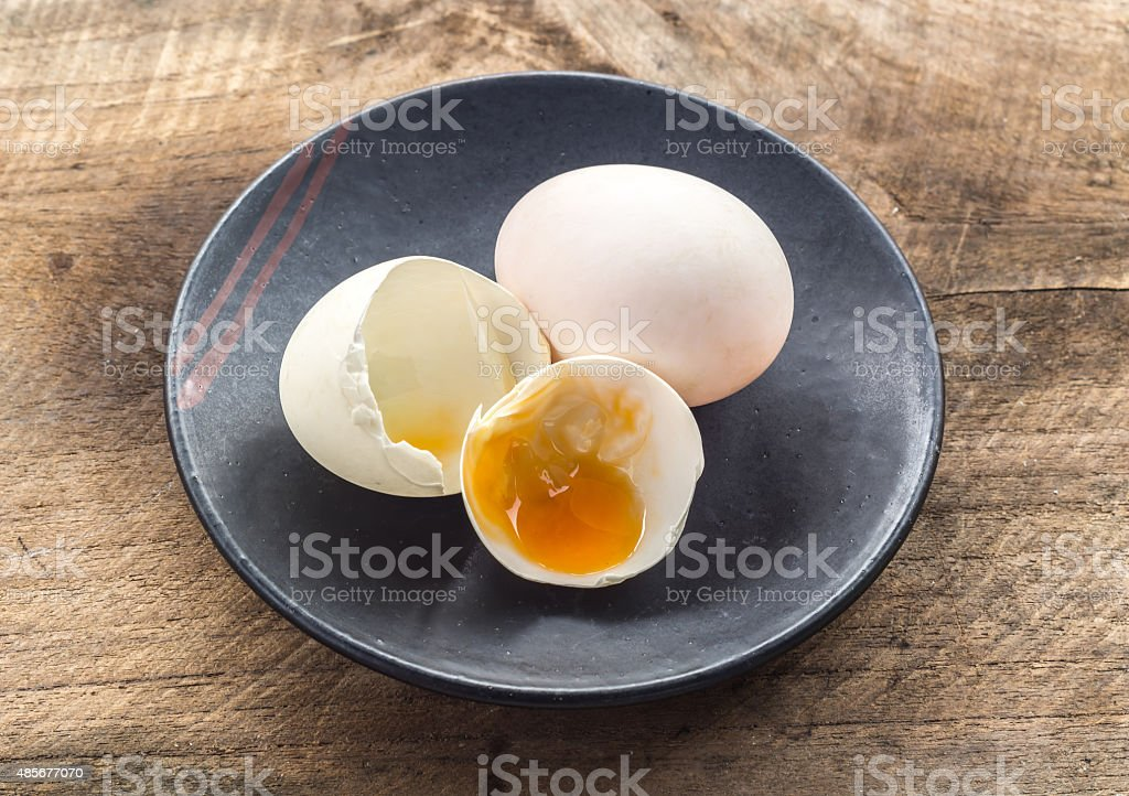 broken white eggshell stock photo