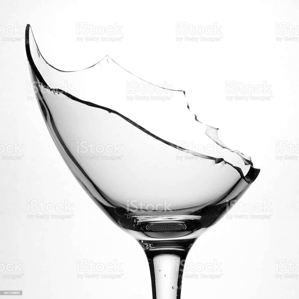 Partido Copo de Vinho foto de stock royalty-free