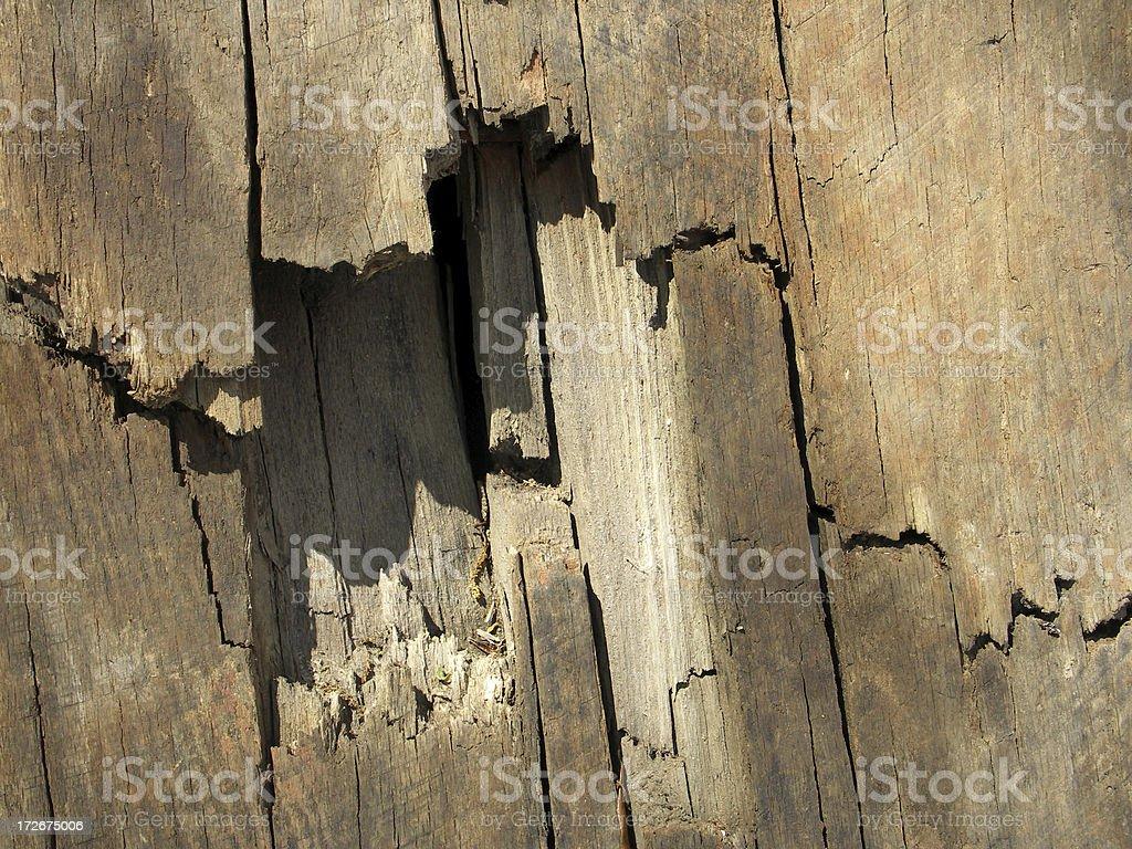 TEXTURE: Broken Wood Board stock photo