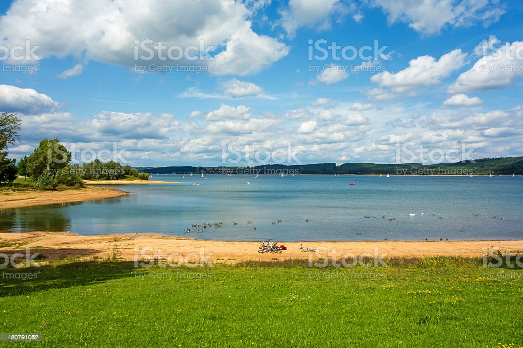 Brombachsee stock photo