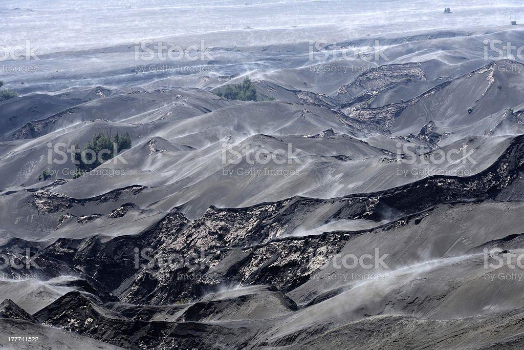 Bromo volcano in Indonesia royalty-free stock photo