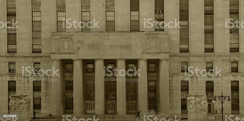 Bronx County Supreme Courthouse stock photo