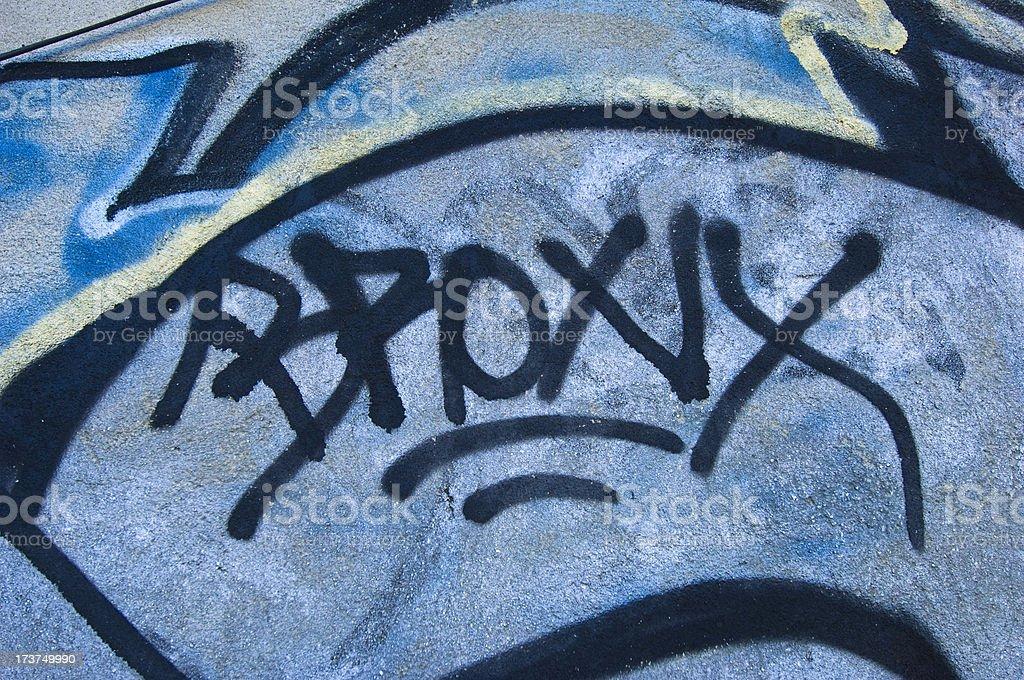 Bronx Graffiti stock photo